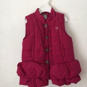 Toddler puffer vest